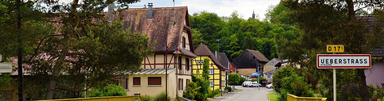 Village d'Ueberstrass, Haut-Rhin